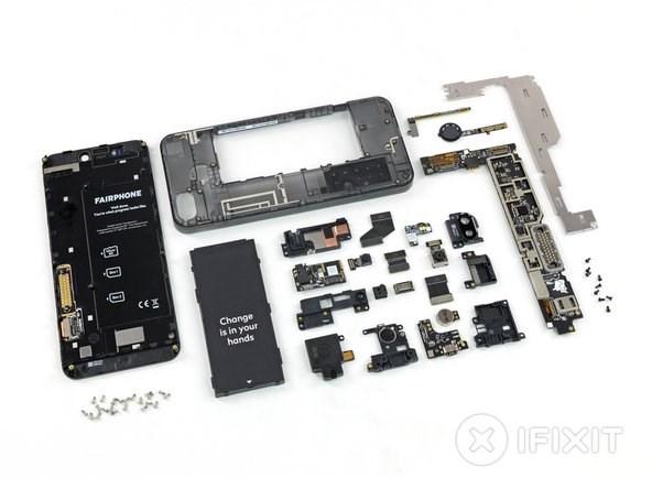 iFixit给模块化手机Fairphone 3可维修度打出满分