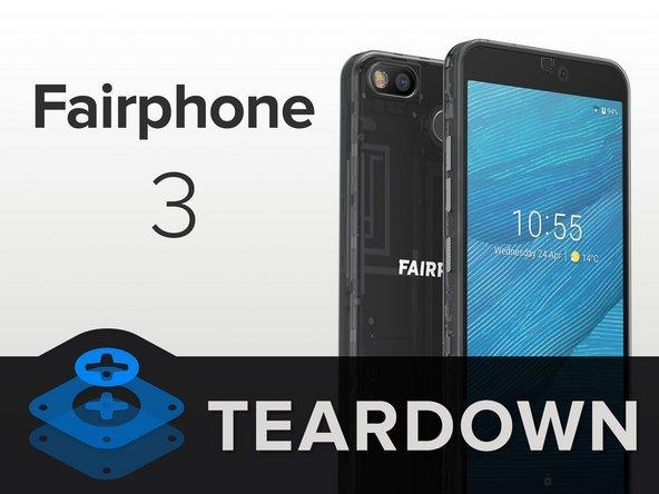 iFixit给出满分 模块化手机FairPhone 3名副其实