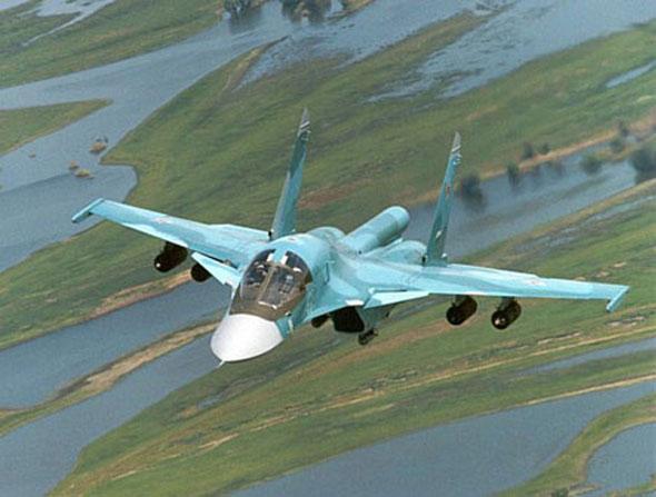 俄罗斯战斗轰炸机服役后多次实战 苏联时代研发最近几年才服役