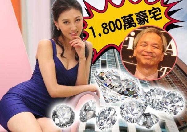 """珠宝项链+1500万大豪宅,这对重口味儿""""爷孙恋""""修成正果略辣眼啊!"""