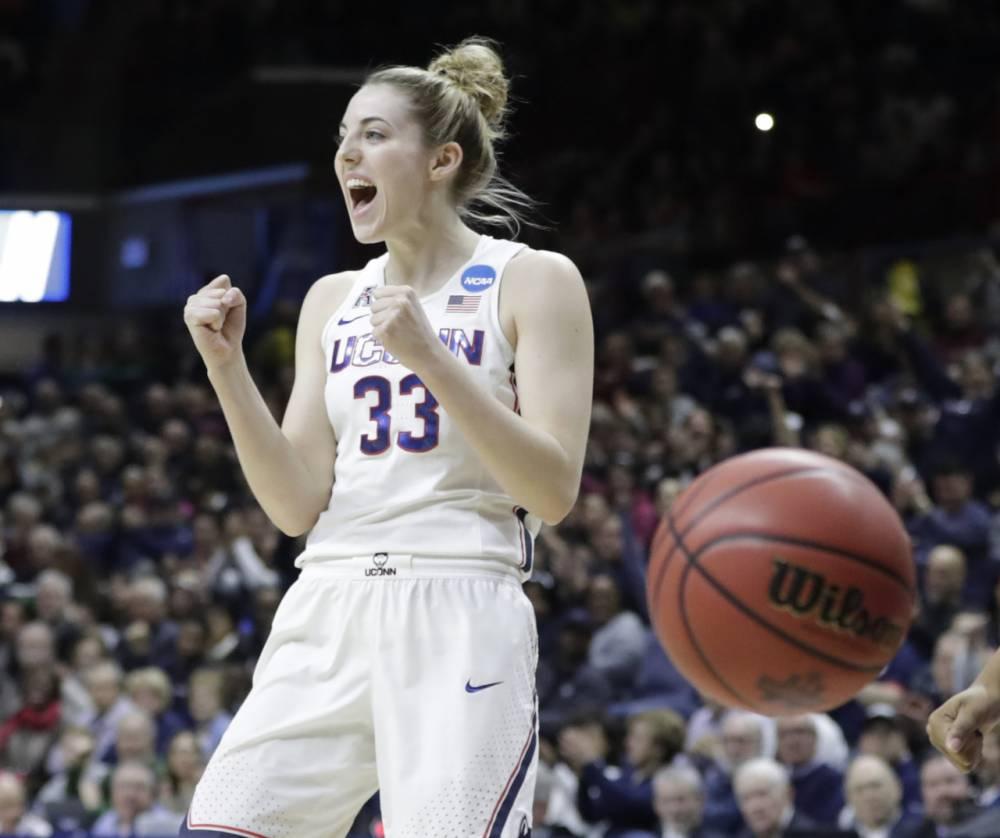 今日图集:韩旭同届!WNBA四号秀漂亮又能打的凯蒂-萨缪尔森