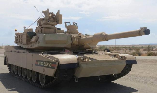 台湾购美M1A2坦克已报价 300亿新台币买108