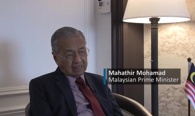 马来西亚总理:不会在南海等问题上挑衅中国