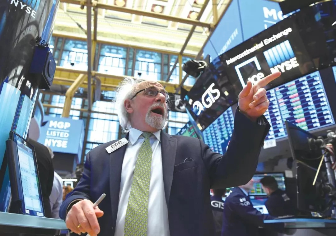 ▲資料圖片:今年4月12日,交易員在美國紐約證券交易所工作。(新華社)
