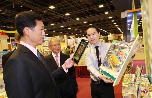 新加坡教育部长:增强华文学习趣味 激发孩子兴趣