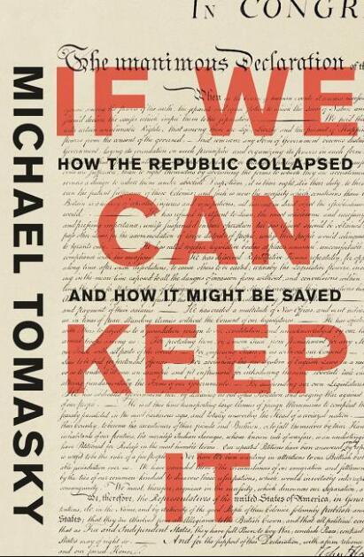 《如果我们能让它维持下去:共和政体是如何崩溃的以及如何拯救它》一书封面