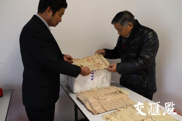 民国契据:高淳一村民家中有30多张祖传老古董