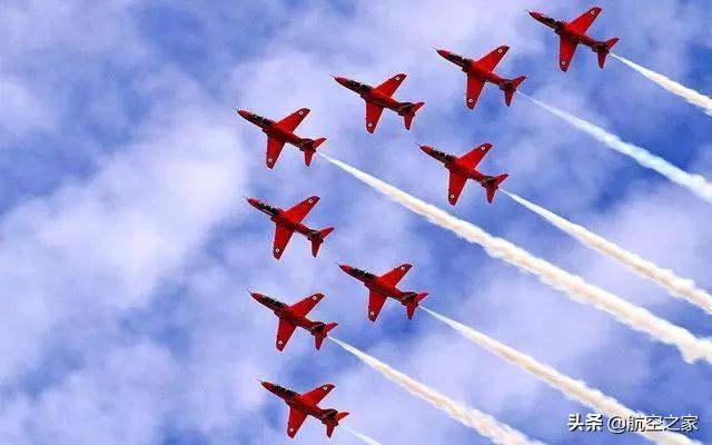 蓝天舞者,红箭、雨燕、勇士、雷鸟,世界著名飞行表演队一览