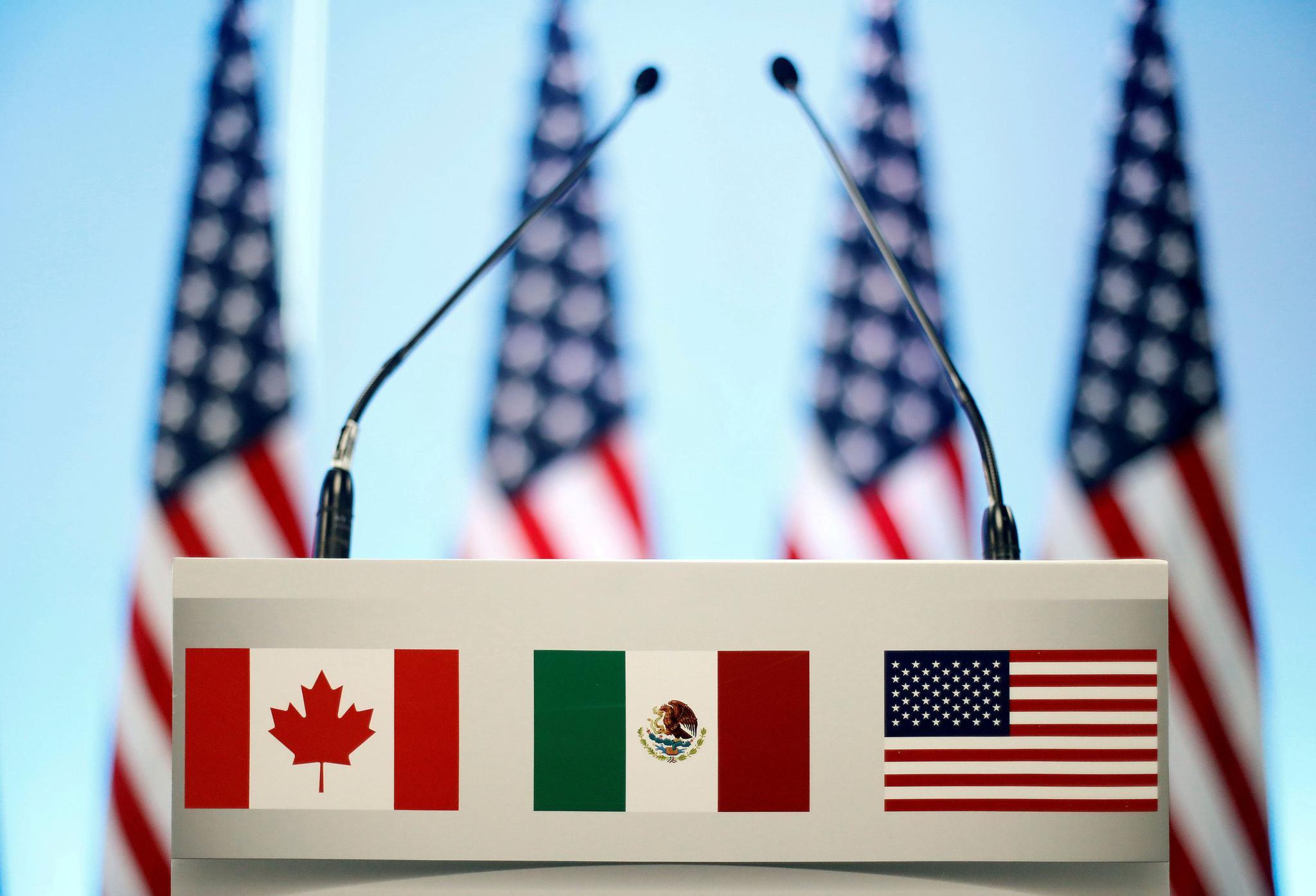 特朗普欲分而谈之 北美自贸协定今年难续约自贸协定