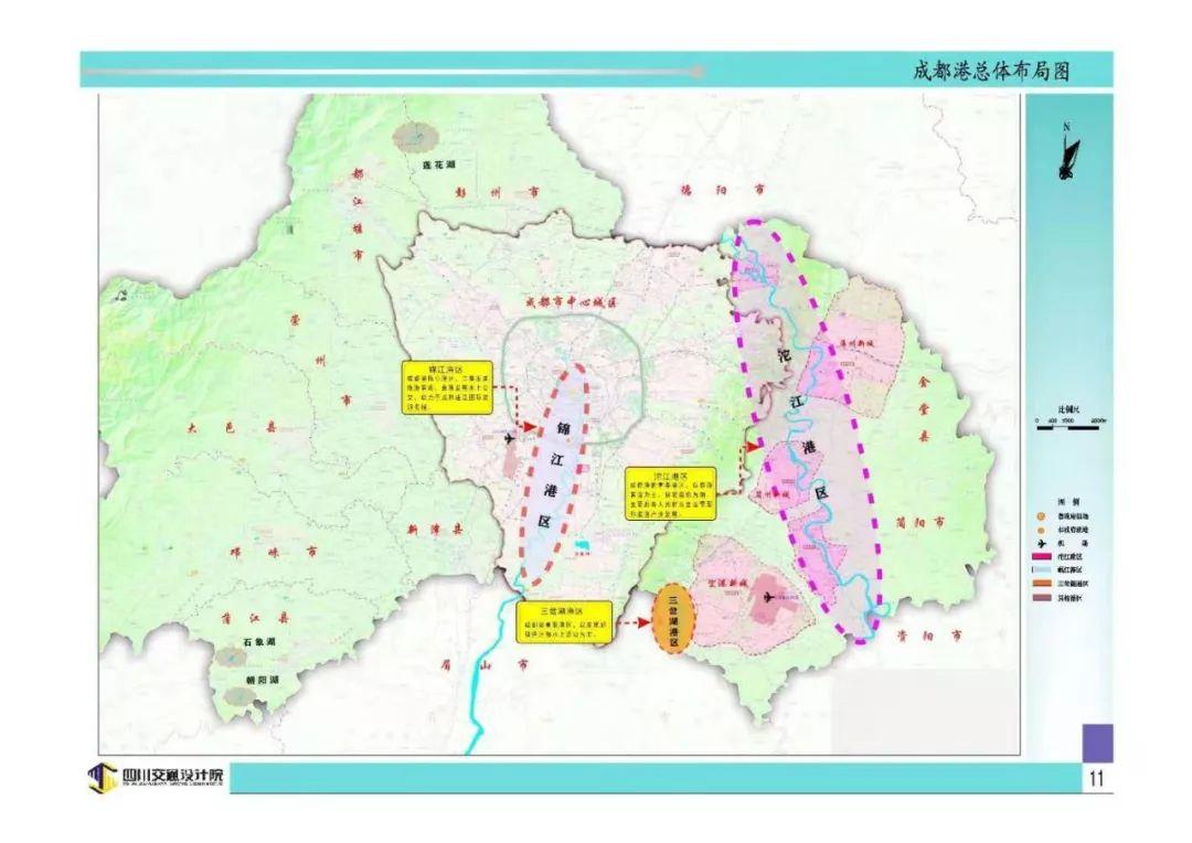 """""""成都港""""来了:拟建一批港口,最终发展成国际知名旅游港口"""