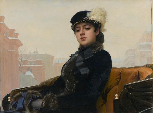 进博·主宾国 | 俄罗斯艺术史上的公案:《无名女郎》是安娜·卡列尼娜吗?