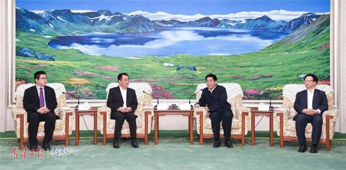 吉林省委书记省长会见许家印 长