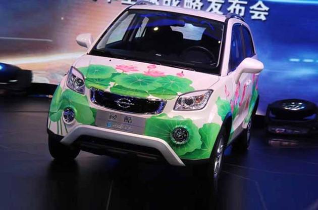 长江首款C级概念车北京车展亮相 续航1000km