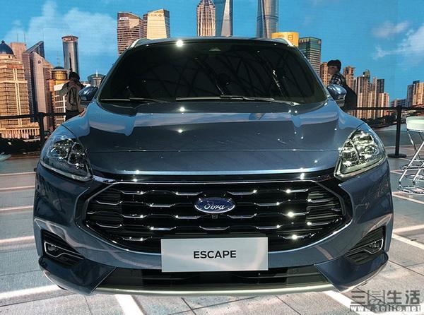 长安福特Escape中文名定为锐际,预计年底上市
