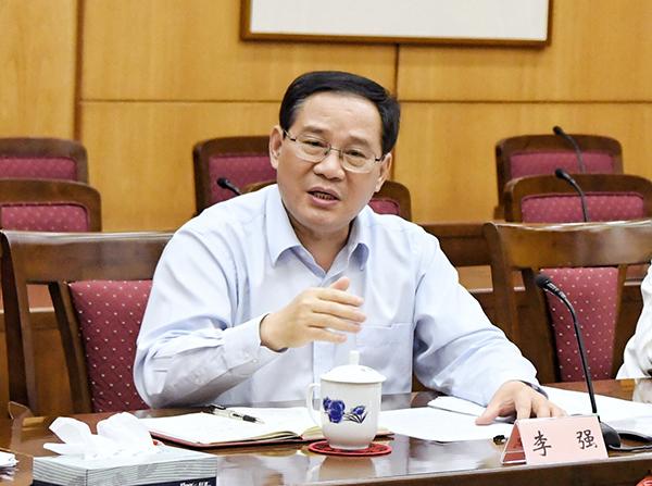 李强与部分区委书记座谈 讨论了这些重点工作综艺二区