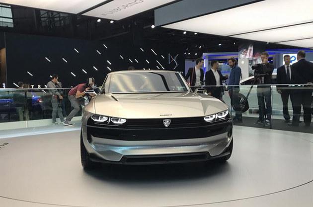 2018巴黎车展 标致e-Legend概念车亮相