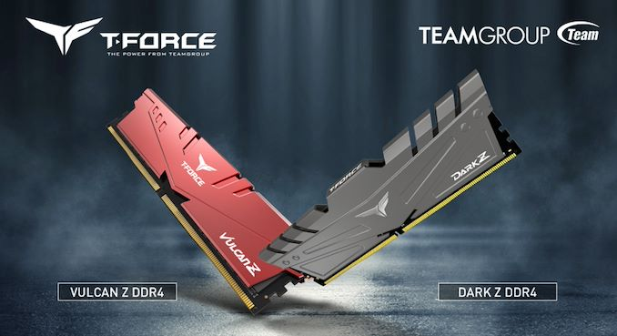 十铨推出单条32GB的T-Force Vulcan Z和Dark Z DDR4内存模组