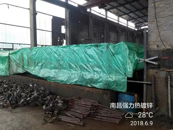 南昌强力热镀锌有限公司用塑料布制作的酸雾集气罩 本文图均为 生态环境部微信公众号 图