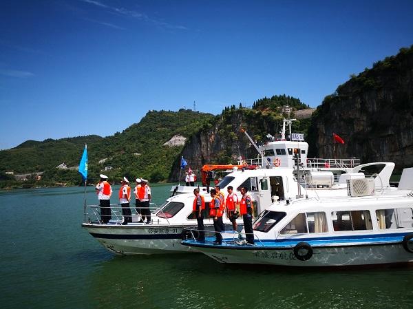 湖南省湘西州举行水上应急搜救演练