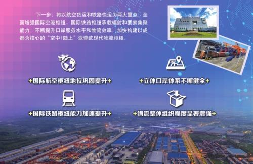 成都陆港型国家物流枢纽:构建蓉欧枢纽泛欧泛亚开放经济高地