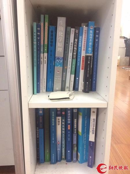 教师办公室设迷你图书馆 让理科小子也爱上阅读