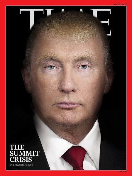 美国《时代》周刊7月30日(提前出版)一期封面
