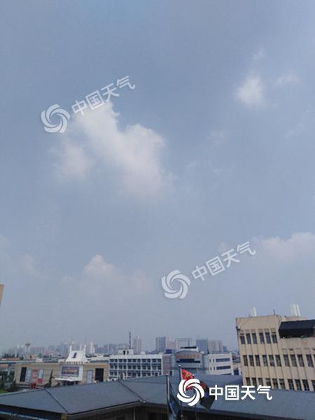 """今明天浙江再受高温""""烤验"""" 后天台风""""摩羯""""带来降雨"""