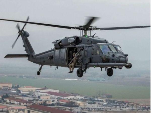 """美军""""铺路鹰""""直升机(美国空军资料图片)"""
