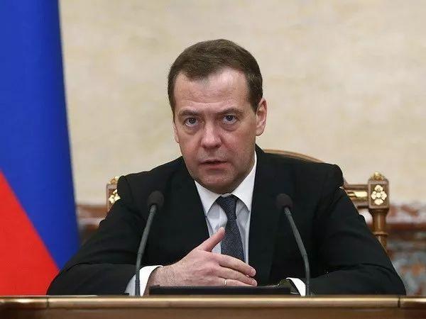 ▲在美国对俄罗斯实施新制裁后,俄罗斯总理梅德韦杰夫4月9日指示政府准备回应计划。