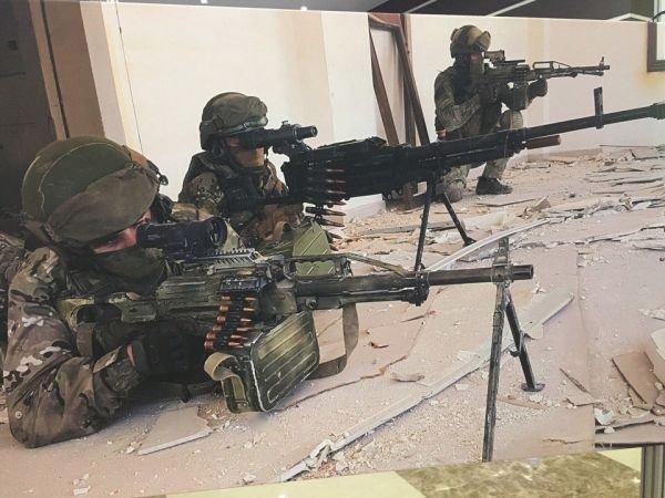 资料图片:在叙利亚境内作战的俄军SSO特种部队。(图片来源于网络)