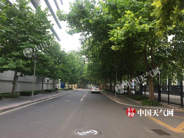 大降雨!北京连续四天降雨模式—出门带伞!