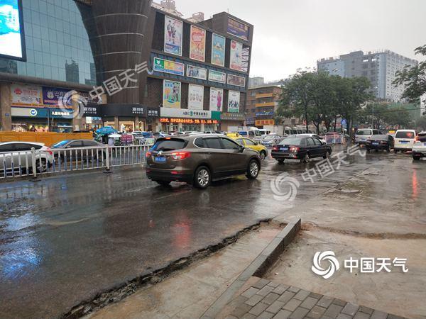 甘肃多地降暴雨广河破纪录 今天陇南平凉等将有大到暴雨