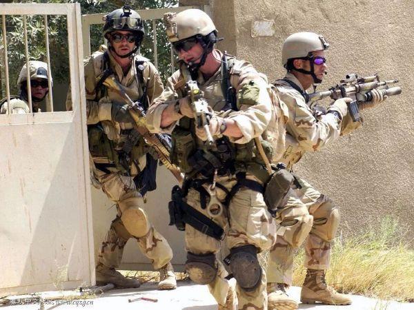 图为在阿富汗作战的美军。
