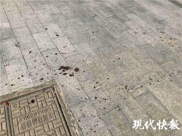 探访昆山砍人案现场:血迹绵延数十米(图)