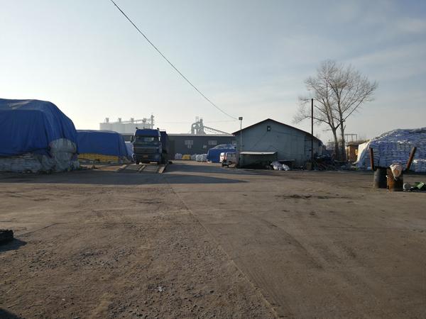 沈阳市双城区的化肥厂是周刚、孙海达等人被强迫劳动的最后一处工地。澎湃新闻记者 朱远祥 图