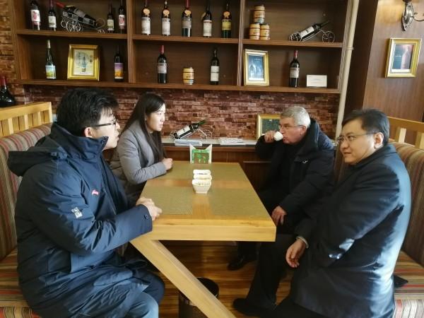 京张高速服务区为国际奥委会主席巴赫提供茶歇