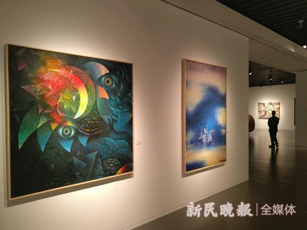 """这里齐聚了刘海粟颜文樑林风眠的作品,这里是""""意象江南"""""""
