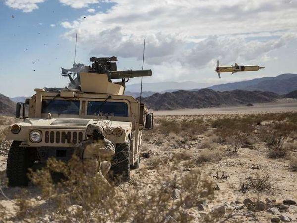 """資料圖片:美軍試射""""陶""""式2A型反坦克導彈。(美國國防部網站)"""