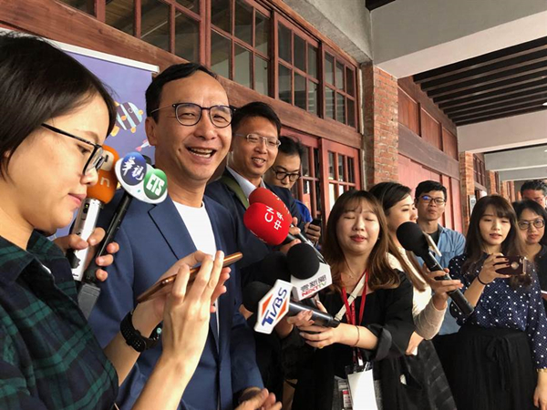 朱立伦吁吴敦义担任韩国瑜竞选总部重要职务