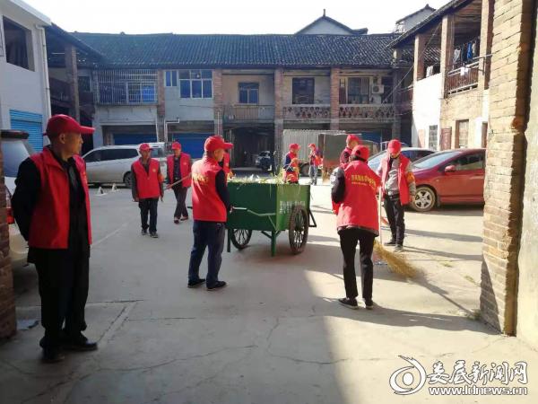 """杨市镇""""查防保""""志愿服务队开展爱护家园卫生大清理行动 助推创文工作"""