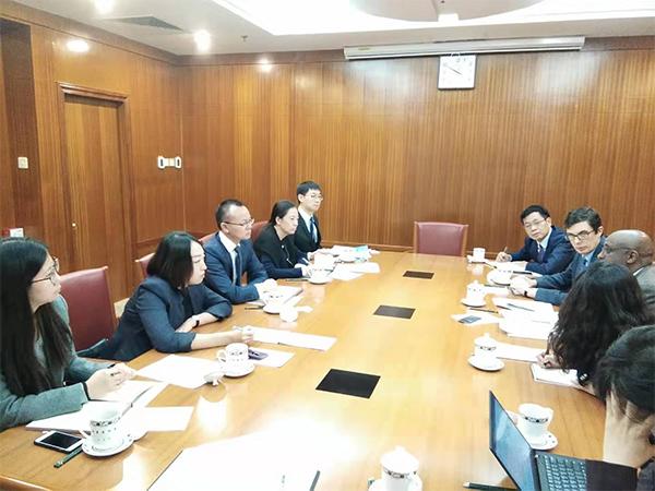 外资司会见国际货币基金组织非洲部主任