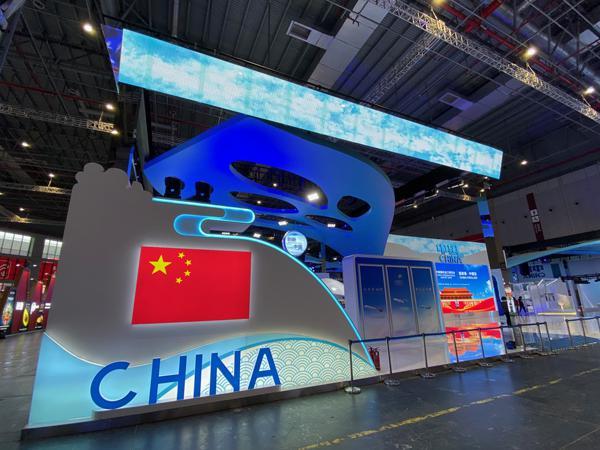 """进博会中国馆让你""""上天入海"""",国产大飞机载人潜水器啥都有"""