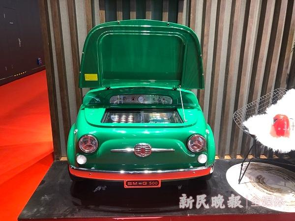 """家电中的""""爱马仕""""长啥样?原来汽车车头也能做成冰箱"""