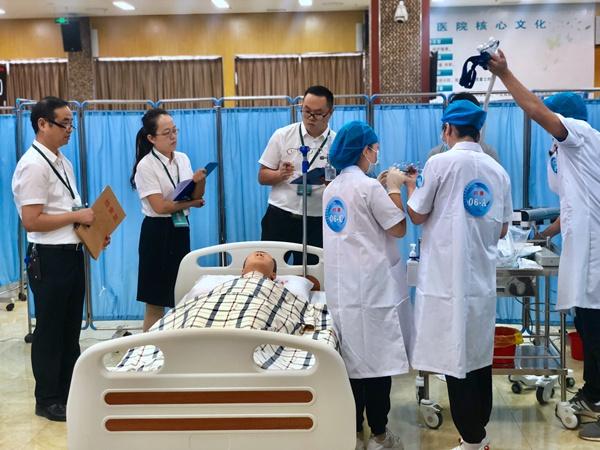 首届省际住院医师规范化技能大赛在海口举办
