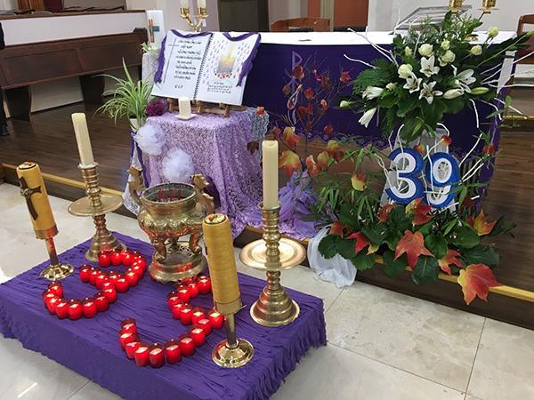 伦敦越南人天主教堂周日弥撒中纪念39名死难的同胞