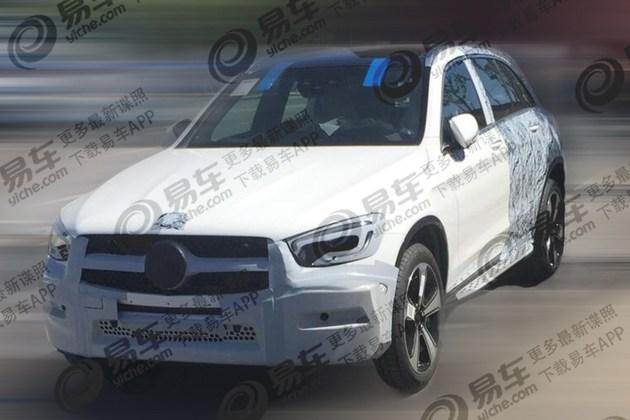 新款国产奔驰GLC长轴版谍照曝光 外观小改/轴距加长