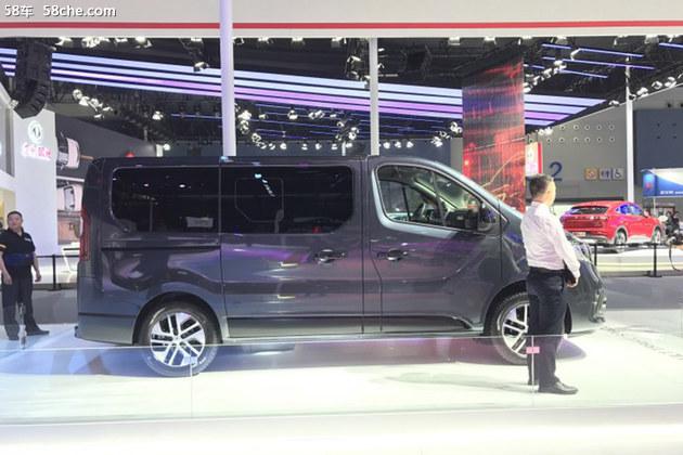 2018广州车展 雷诺MPV车型Trafic亮相