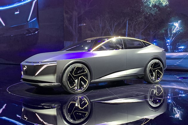 2019北美车展:日产IMs概念车亮相 采用新能源动力系统