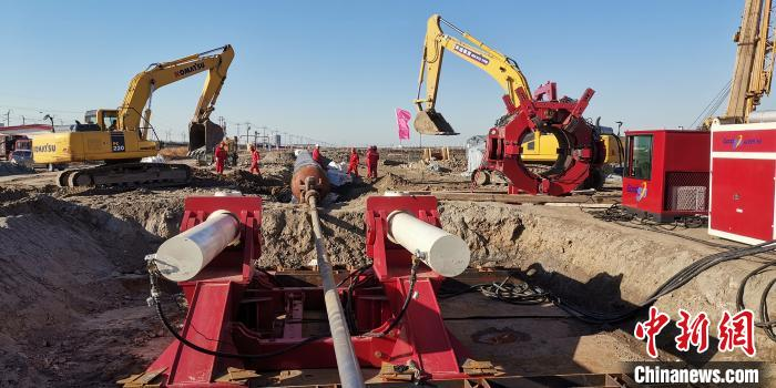 国内最大口径最长距离管道海底定向钻穿越成功