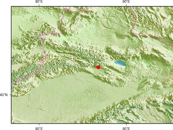 6月12日11时46分新疆巴音郭楞州和硕县发生3.0级地震
